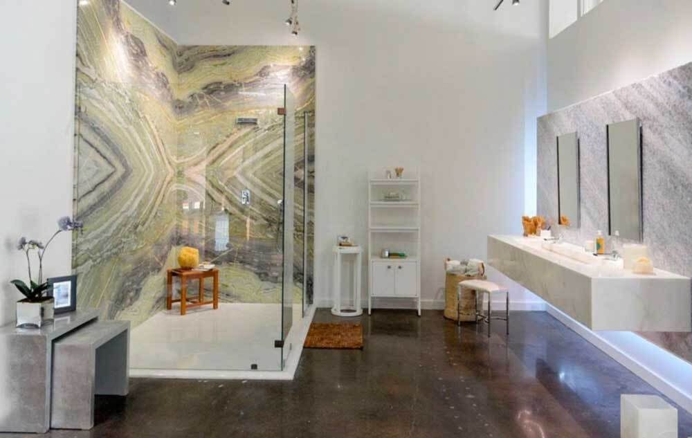 Столешницы для ванной комнаты в Москве. Цена на заказ от производителя