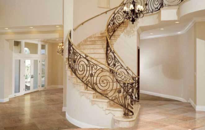 Отделка лестниц и облицовка ступеней камнем в Москве. Цена на заказ от производителя