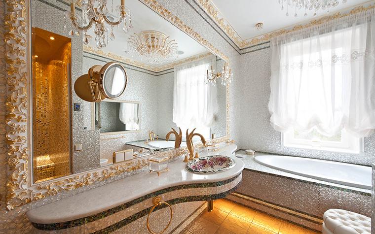 Ванные комнаты из камня