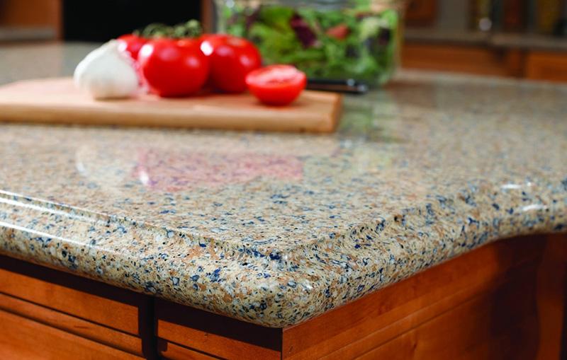 Каменные кухонные столешницы