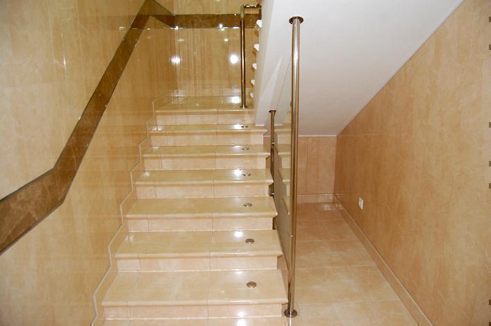 Лестница из керамогранита своими руками